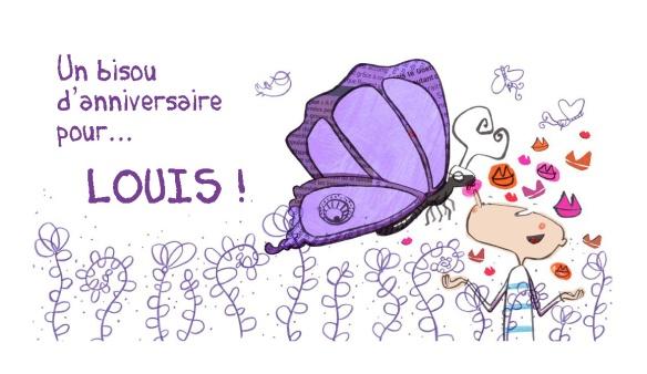 Invitation anniversaire Louis