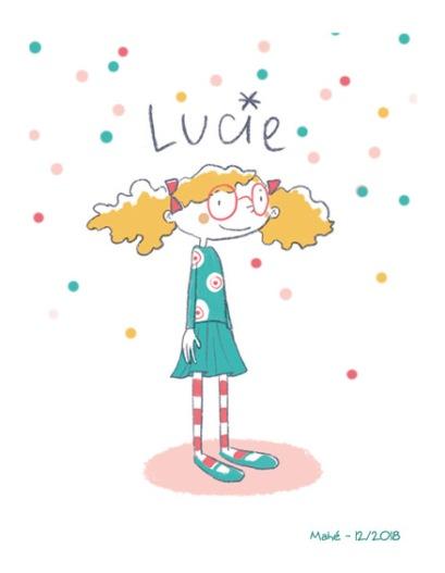 Portrait de Lucie