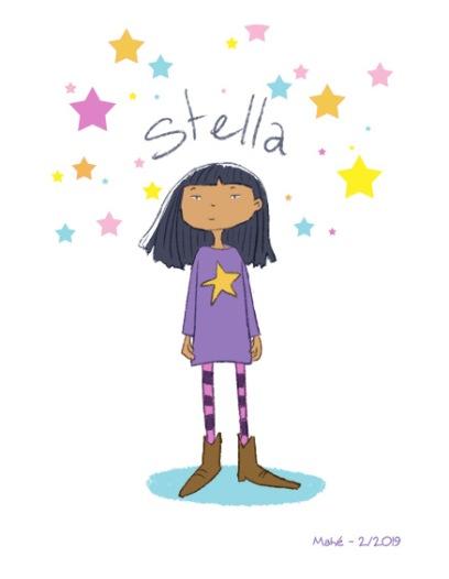 Portrait de Stella